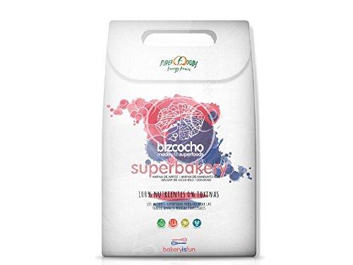 Feelings Superbakery para Bizcocho Ecológico,  655 gr, 1 paquete