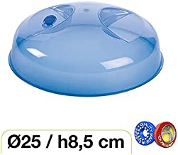 Haltra Tapa con válvula para microondas (25 x 8,5 cm) Azul