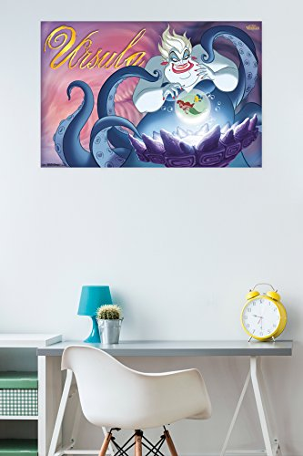 "Trends International Disney Villains Ursula Wall Poster 22.375"" x 34"""