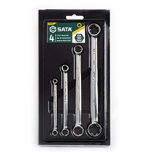 SATA 4-Piece E-Torx Box Wrench Set - ST09012SJ