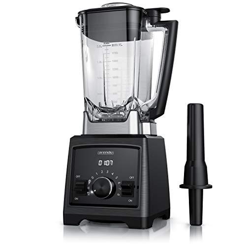 Arendo - Power Standmixer 2000W inkl. Mixbehälter - Höchstleistung 32.000 U/min. - Stand-/Küchengerät Mixer - 2 Liter - Hochleistungsmixer und Smoothie Maker - Tritan-Behälter ohne BPA - 2000 Watt
