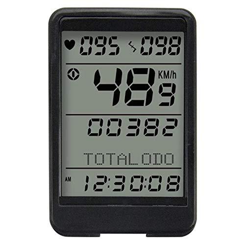 Odómetro de Bicicleta Ciclismo Computadoras de strapaso inalámbrico MTB Bike Bike Odómetro...