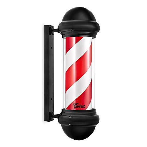 Twist Barber Pole Rosso e Bianco