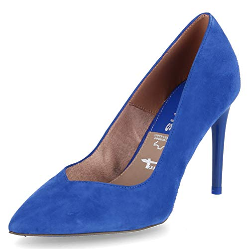 Tamaris Damen Pumps Royalblau 41
