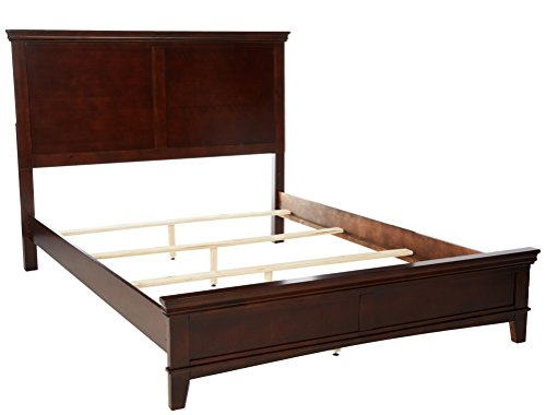 247SHOPATHOME bed-frames, Queen, Cherry