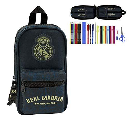 Real Madrid C.F. 411934747, Estuche para Niños, Multicolor, 12x23x5 cm