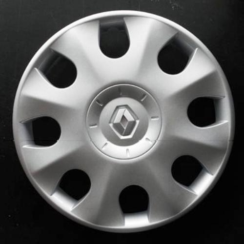 Wheeltrims Set von 4New Radzierblenden für Renault Clio 3/Scenic 2/Megane 2/Megane 3/Modus/Laguna 2/Laguna 3/Espace 4/VEL SATIS/Twingo 2/Kangoo 2mit Original Felgen in 38,1cm