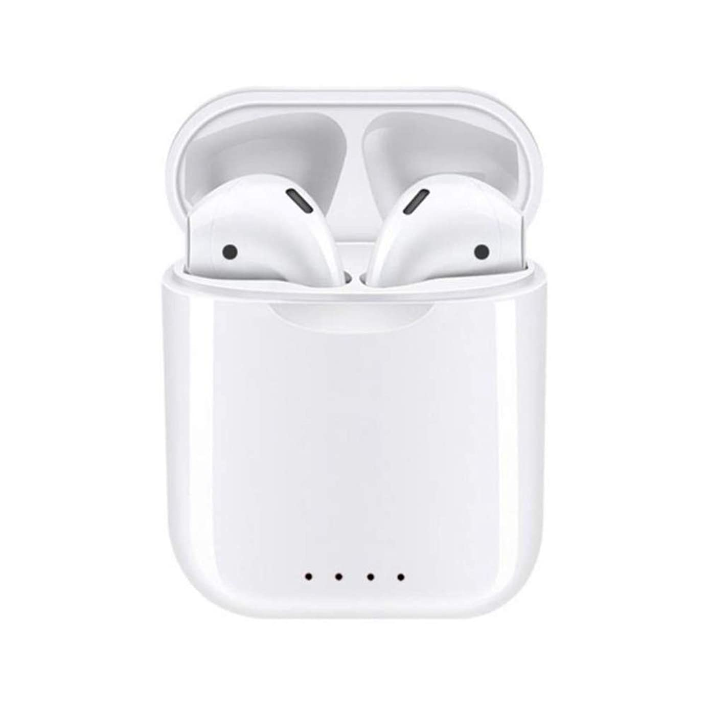 i-88 TWS Bluetooth Earbuds V5.0 Wireless Headphones with Magnetic Charging Box,Smart Touch Control.Noise Cancelling with Mic Charging Case. Compatible with iOS & Android.(White)