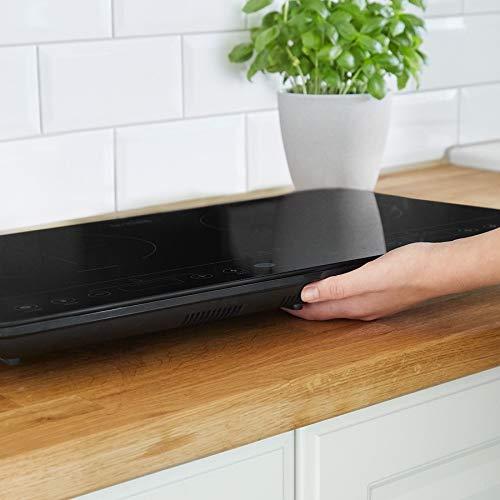 Placa Inducción Portátil - Placa de induccion de Vitrocerámicas, Cocina Inducción Portátil - Placa Eléctrica de Cocción Doble 3500W
