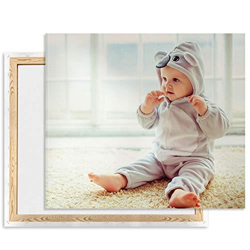 Fai Stampare Le tue Foto su Tela, stampa su Tela 30 x 40 cm Personalizzata, Foto da Parete, Quadri su Tela Come Regalo, Regali fotografici Verticale [128]