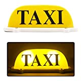 Short yellow-shell taxi lamp drops ordinary bulb 3-meter plug supports printing