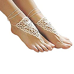 crochet items that sell ~ bare feet sandal