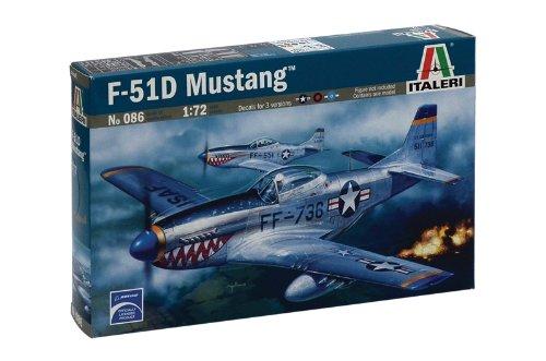 Italeri 0086 - P-51d Mustang Model Kit  Scala 1:72