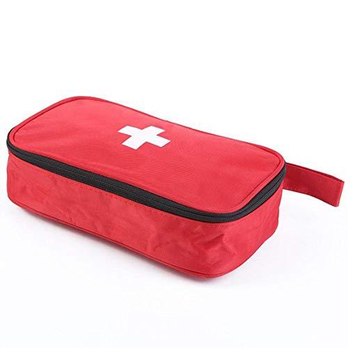 HDSFD Pezzi Kit di Pronto Soccorso,Scatola di Sopravvivenza Mini, Kit di Pronto Soccorso Impermeabile e Portatile Kit Compatto