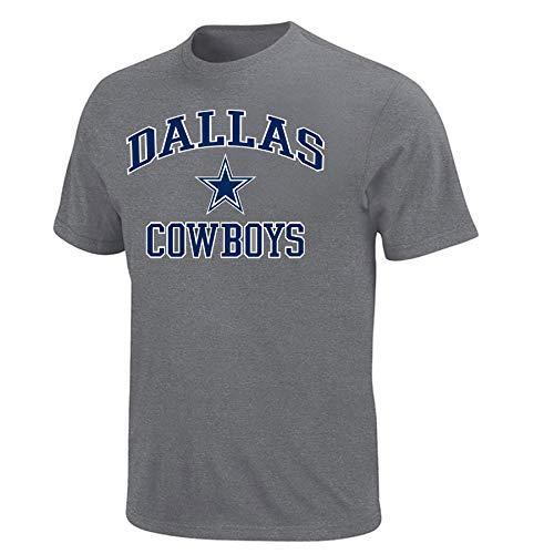 NFL Dallas Cowboys Mens Dallas CowboysT-shirt, Grey Heather, 2X