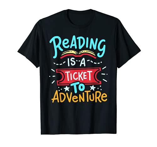 Reading Adventure Library Student Teacher Book T-Shirt