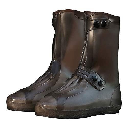 G-like Wasserdicht Rutschfest Schuhbezug Zubehör - Outdoor Regen Schutz Ausrüstung Verschleißfest Stiefel Schuhüberzug Weich Faltbar Dichte Sohle Passform für Damen...