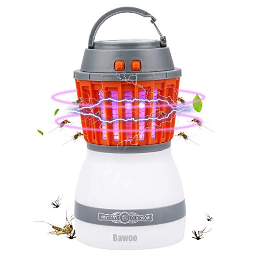 Lámpara Camping LED Linterna de Camping Impermeable IP67 Bawoo 2 in 1 Luces de Tienda Exterior Luces Camping Regulable...