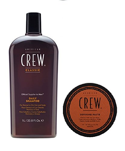 American Crew Daily Shampoo 1000 ml und Defining Paste 85 g