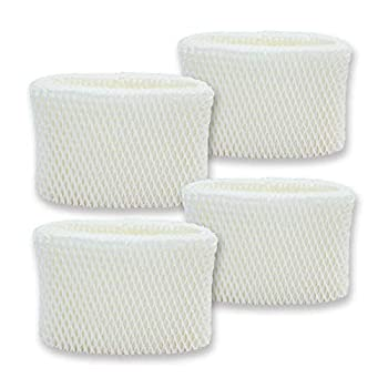 PUREBURG 4-Pack Replacement Humidifier Wick Filters Compatible with Honeywell HAC-504 HAC-504AW HAC504V1 Filter A Fits HCM-350 HEV355 HCM-710 HCM-315 HEV312 HCM-300 HCM-500 HCM-700 HCM-1000 and More