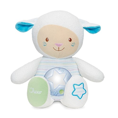 Chicco First Dreams Lullaby Musical Sheep Nightlight Projector, Blue