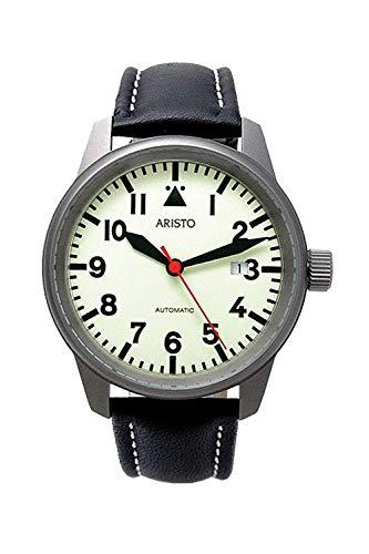 Aristo Uhr 5H70Ti - Titan Automatikuhr mit ETA 2824
