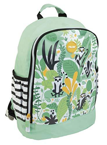 Mochila escolar pequeña Hide & Seek, verde