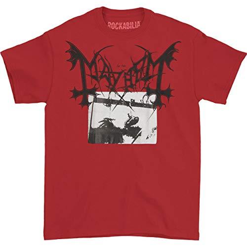 Mayhem - T-shirt - Homme Noir noir taille unique