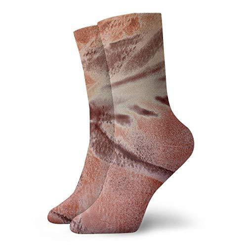 Landscape Sonoma Mens Crew Socks Compression Socks Funny Cushion Ankle Socks