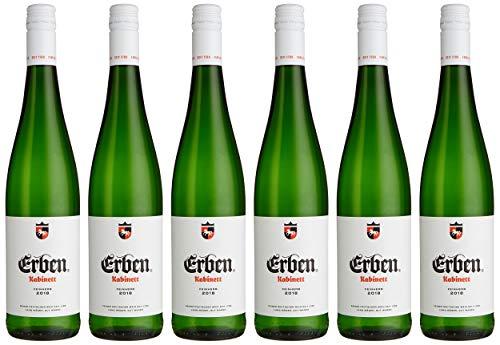 Erben Kabinett Feinherb – Weißwein aus Deutschland – Prädikatswein – 6 x 0,75 l