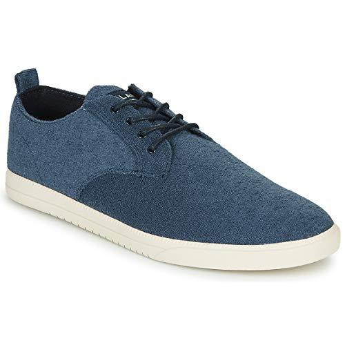 claé Ellington Textile Sneaker Herren Blau - 42 - Sneaker Low Shoes