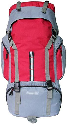 Mochilas de senderismo de 55 litros de gran capacidad al aire libre mochila impermeable montañismo camping senderismo mochila mochila de viaje bolsa de deporte
