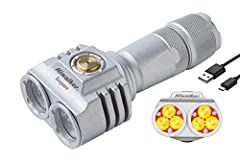Ultra bright and longevity - Niwalker portable tactical flashlight easily illuminates objects up to 1300 feet, 10 times brighter than old incandescent lamps, and has a lifetime of more than 100000 hours. this is where we distinguish it form other fla...