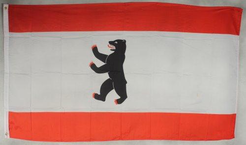 Flagge Fahne ca. 90x150 cm : Berlin Berliner Berlinflagge