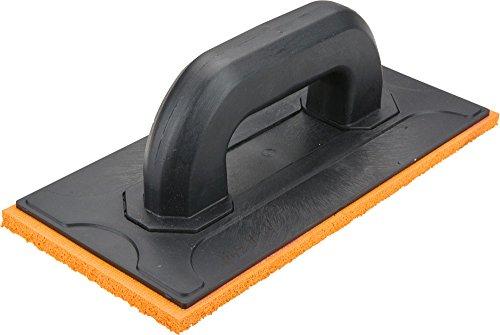 Topex 13A342 Talocha de plástico con esponja de goma (18 mm, 260 x 120 mm)