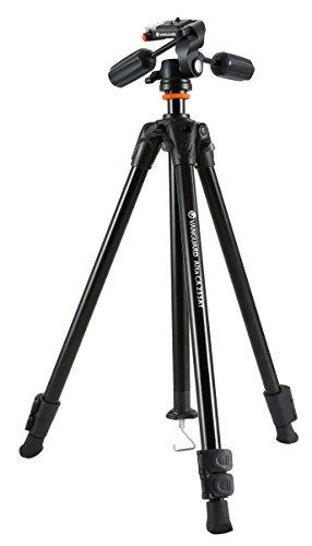 Vanguard Alta CA 233APH - Trípode de aluminio para foto, vídeo y telescopio, de 3 vías y 2 manetas