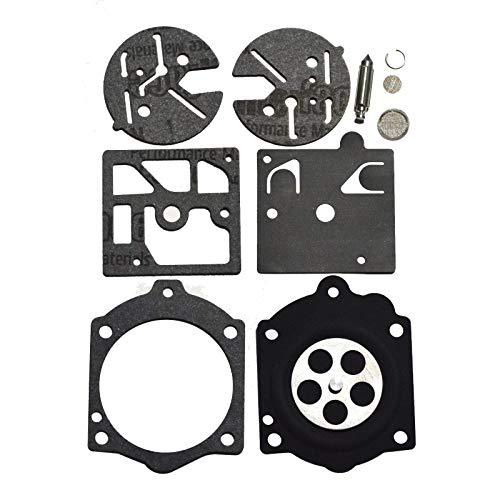 Carburetor Rebuild Kit Carb Repair Set Gasket Diaphragm Walbro K10-HDC Fit for Stihl 015 Homelite XL Super 2/2000 Walbro