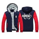 Rainbow Six Siege Hoodie Fleece Lined cotton hoodie with plush(Size XL)