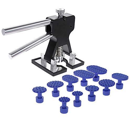 Challeng PDR Tool Kit Autolackfreier Dent Puller Lifter Karosserie-Reparatur Hagelabbau (Schwarz)