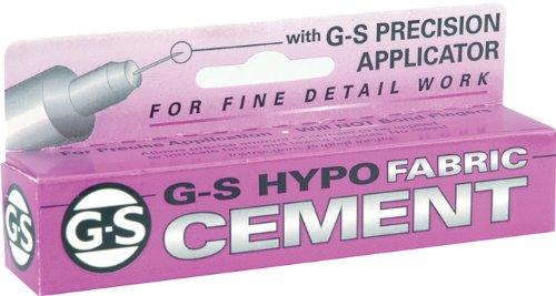 G-S Hypo Fabric Cement-1/3 Fluid Ounce