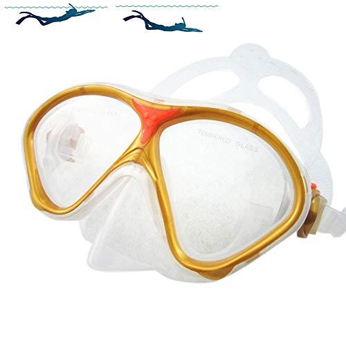 SDFHTYN Gafas natación niños Buceo Smiley patrón
