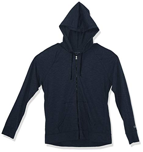 Champion Women's Jersey Jacket, Imperial Indigo Heather, M