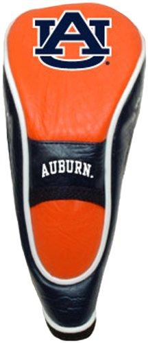 Team Golf NCAA Auburn University Tigers Hybrid-Golfschlägerhaube, Klettverschluss, Velours-Futter für zusätzlichen Schutz des Schlägers, Rotbraun Tigers