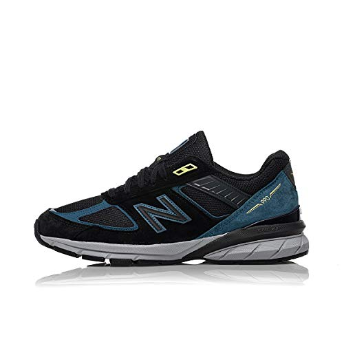 New Balance 990 V5 Made in USA M990DR5 Black Blue, Schwarz - schwarz - Größe: 11 US