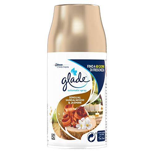 Glade Automatic Spray Ricarica Fragranza Sandalo Bali e Gelsomino, 269ml