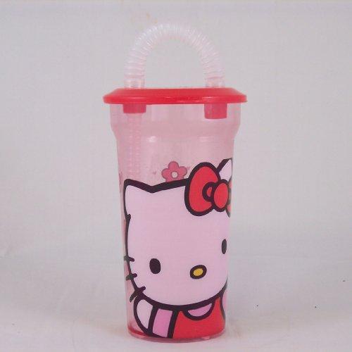 Hello Kitty: Verre paille Hello Kitty