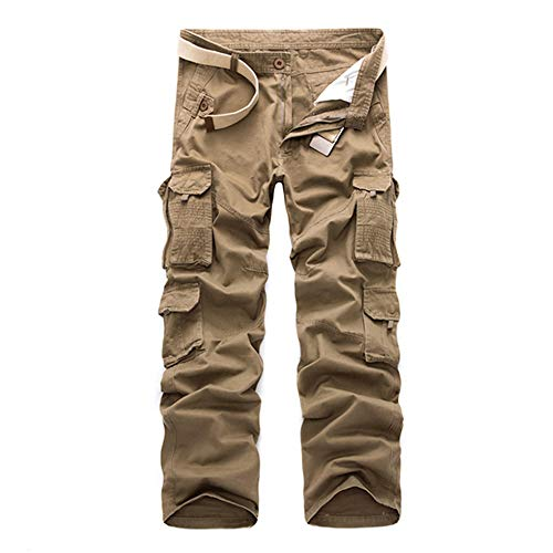 DEBND Men's Outdoor Tactical Trousers Water Resistant Lightweight Work Cargo Trousers Ripstop Military Pants Mechanical Stretch Hiking Seasons Hiking Climbing Trousers