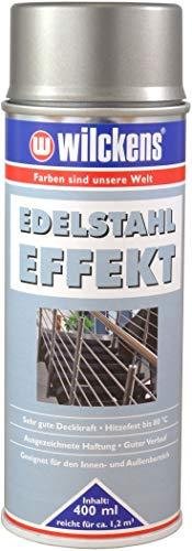 Wilckens Dekospray Edelstahl-Silber 400 ml Deko-Spray Sprühfarbe Lackierspray Farbspray