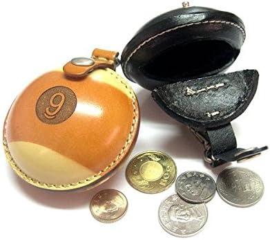Billiard Depot Men's Women's Genuine Leather Quality Coin Change Pouch Bag Wallet Holder, Billiards Gift