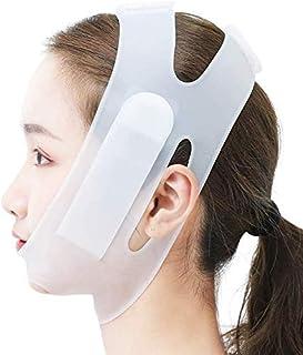 Wangbandriem, siliconen face-lift bandage V Gezichtsartefact Dunne dubbele kin Ademend Slaapheffen Verstevigende bos Gezic...